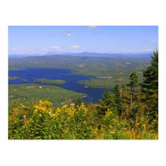 Mount Sunapee Lake Sunapee View Postcard