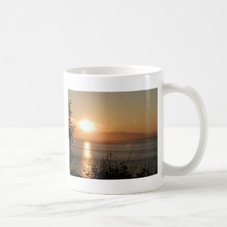 Mount Susitna Sunset in Alaska / Coffee Mug