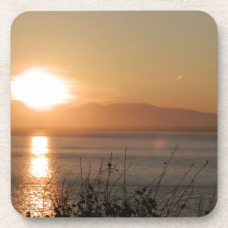 Mount Susitna Sunset in Alaska / Drink Coaster