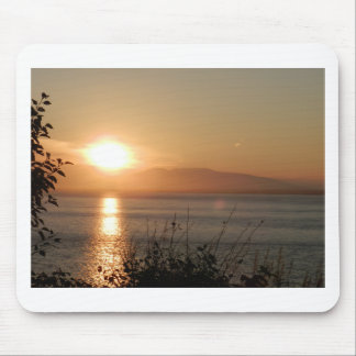 Mount Susitna Sunset in Alaska / Mouse Pad