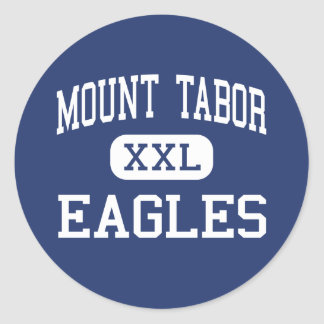 Mount Tabor Eagles Middle Portland Oregon Round Stickers