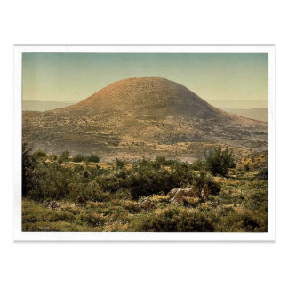Mount Tabor, Holy Land, (i.e. Israel) magnificent Postcard