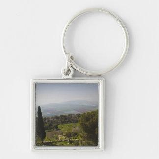Mount Tabor, site of biblical transfiguration Keychain