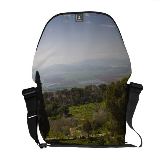 Mount Tabor, site of biblical transfiguration Messenger Bag