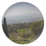 Mount Tabor, site of biblical transfiguration Dinner Plates