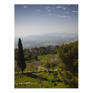 Mount Tabor, site of biblical transfiguration Postcard