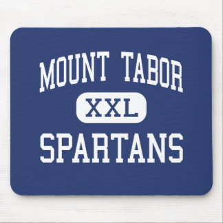 Mount Tabor - Spartans - High - Winston Salem Mouse Pad