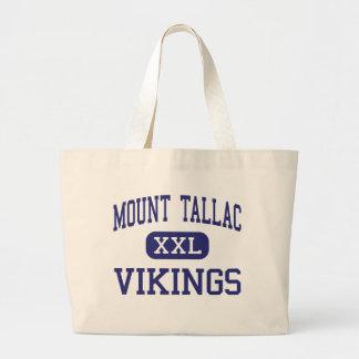 Mount Tallac - Vikings - High - South Lake Tahoe Canvas Bags