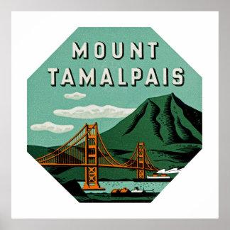 Mount Tamalpais Poster