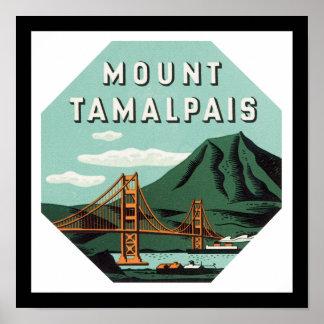 Mount Tamalpais Print