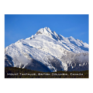 Mount Tantalus in BC Canada Postcard