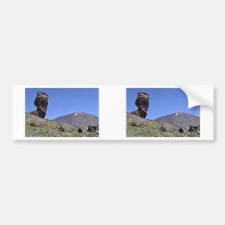Mount Teide at Canary islands Bumper Sticker
