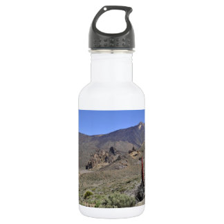 Mount Teide at Canary islands 18oz Water Bottle
