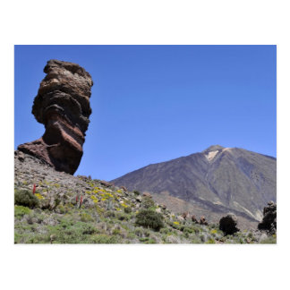 Mount Teide at Canary islands Postcards