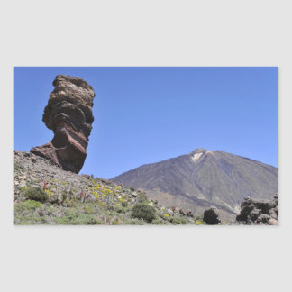 Mount Teide at Canary islands Sticker