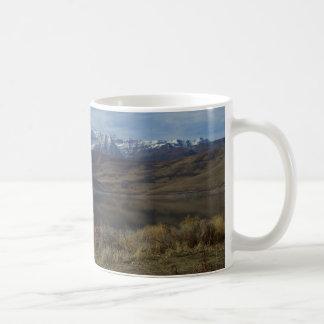 Mount Timpanogos and Deer Creek Lake - Customized Coffee Mug