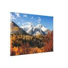 Mount Timpanogos in Autumn Utah Mountains Canvas Print