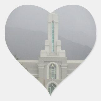 Mount Timpanogos LDS Temple, American Fork Utah Sticker