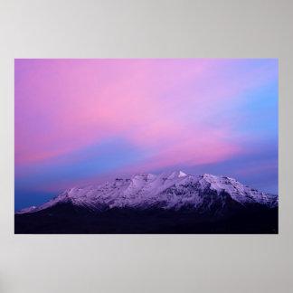 Mount Timpanogos Print