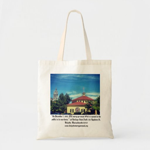 Mount Tom, Mountain Park Merry-G0-Round Budget Tote Bag