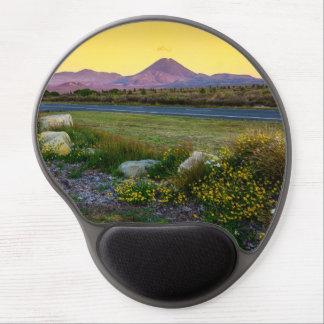 Mount Tongariro, New Zealand Gel Mouse Pad