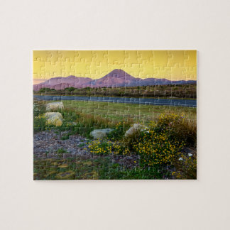 Mount Tongariro, New Zealand Jigsaw Puzzle