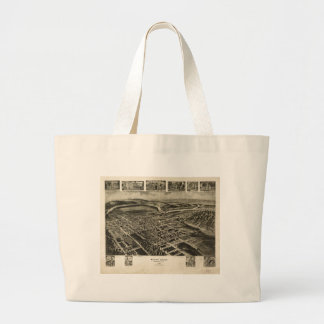 Mount Union Huntingdon County Pennsylvania (1906) Jumbo Tote Bag