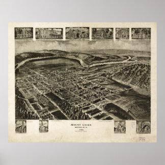 Mount Union Huntingdon County Pennsylvania (1906) Poster