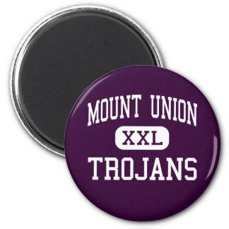 Mount Union - Trojans - High - Mount Union 2 Inch Round Magnet