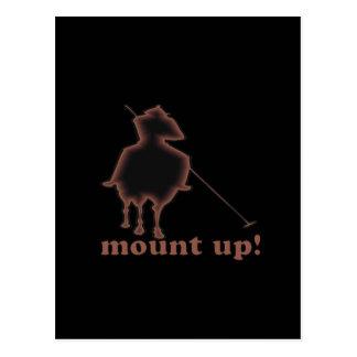 Mount Up 2 Postcard