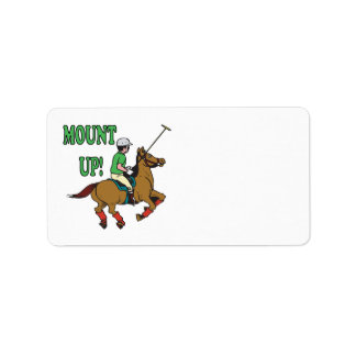 Mount Up Label