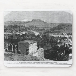 Mount Valerien seen from Louveciennes Mouse Pad