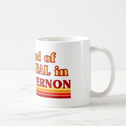 MOUNT VERNON CLASSIC WHITE COFFEE MUG