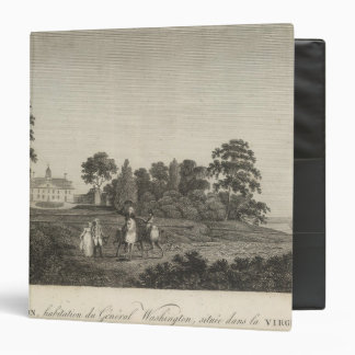 Mount Vernon, home of General Washington 3 Ring Binders