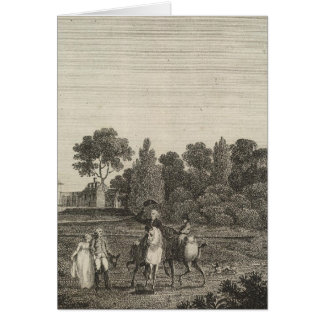 Mount Vernon, home of General Washington Greeting Card