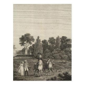 Mount Vernon, home of General Washington Postcard