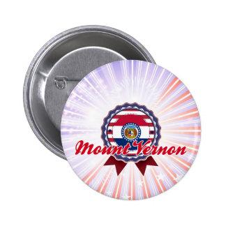 Mount Vernon, MO Pinback Buttons