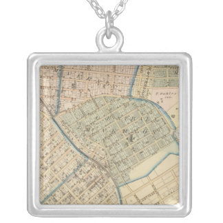 Mount Vernon, New York Silver Plated Necklace