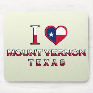 Mount Vernon, Texas Mouse Pad