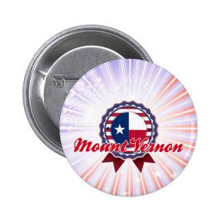 Mount Vernon, TX Pinback Button