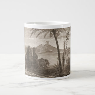 Mount Vesuvius 1798 Large Coffee Mug