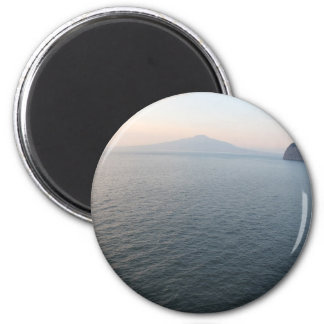 Mount Vesuvius 2 Inch Round Magnet