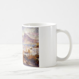 Mount Vesuvius in the Morning by Pierre-Auguste Coffee Mug