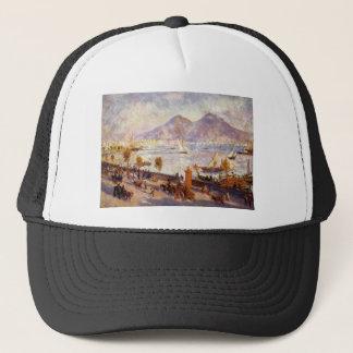 Mount Vesuvius in the Morning by Pierre-Auguste Trucker Hat