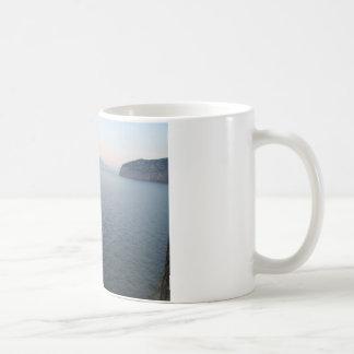 Mount Vesuvius Classic White Coffee Mug