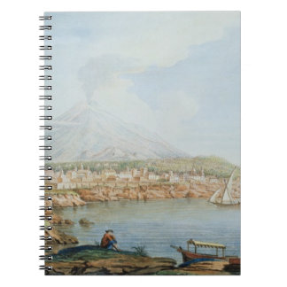 Mount Vesuvius, plate 36 from 'Campi Phlegraei: Ob Spiral Notebook