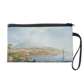 Mount Vesuvius, plate 36 from 'Campi Phlegraei: Ob Wristlet Purse