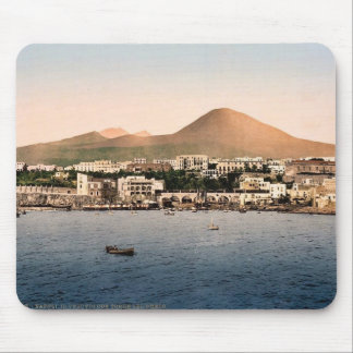 Mount Vesuvius, with Torre de Creco, Naples, Italy Mouse Pads