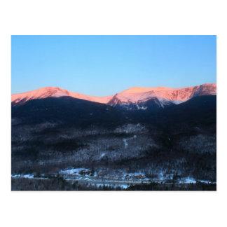 Mount Washington and Pinkham Notch at Sunrise Postcard