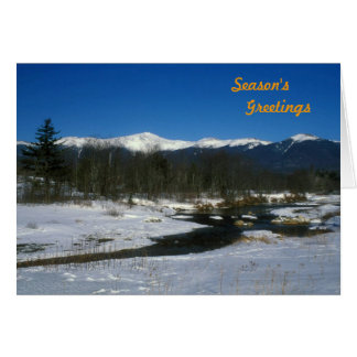 Mount Washington and Presidential Range Holiday Cards